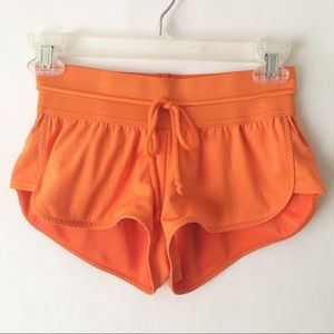 Adidas Stella McCartney Orange Shorts